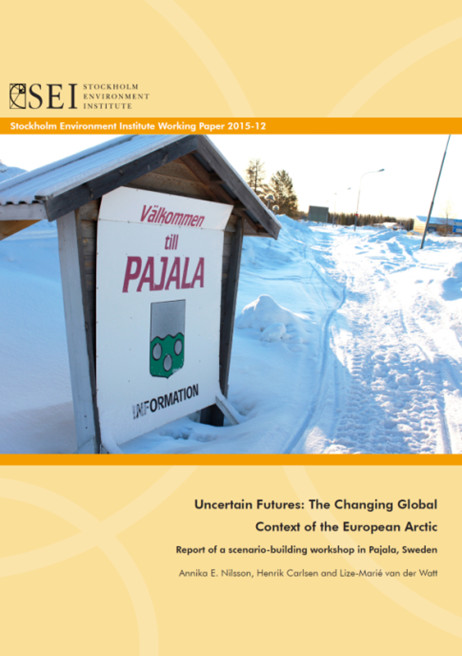 Pajala report cover
