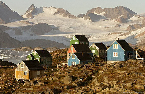 Kulusuk, Greenland. Photo: Nick Russill. Flickr.