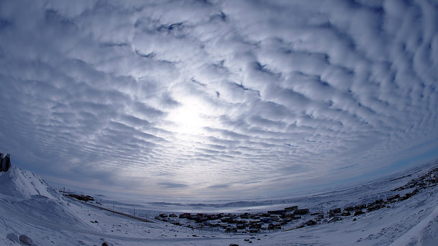identified as Altocumulus clouds. Photo: Fiona Paton. Flickr.