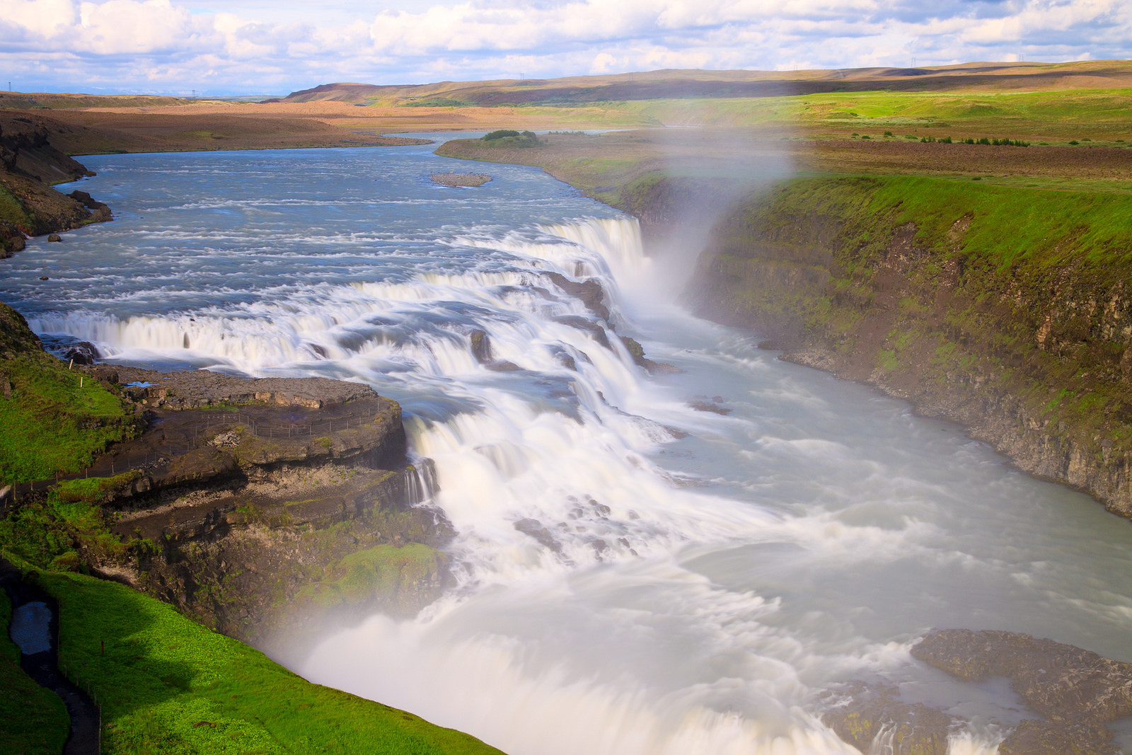 Gulfoss, Iceland. The Great Watefall. Photo: Michael Ransburg/Flickr.